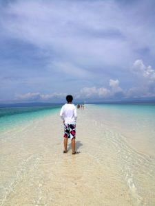 【青い海】続・フィリピン秘境の無人島!!-カランガマン島-